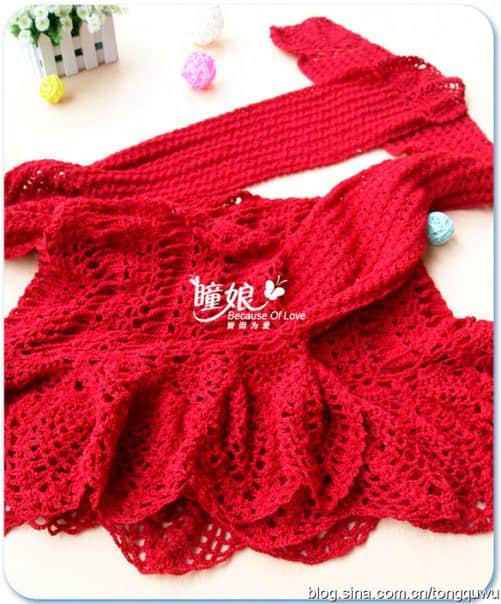 Patron para hacer un chal tejido a crochet para invierno05