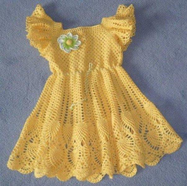 Patron para hacer un vestido a crochet para niña04
