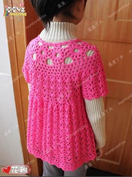 Patron para hacer un vestido a crochet para niña05