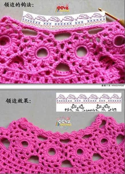 Patron para hacer un vestido a crochet para niña07