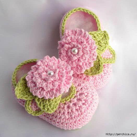 Patrones zapatitos para bebe a crochet gratis03