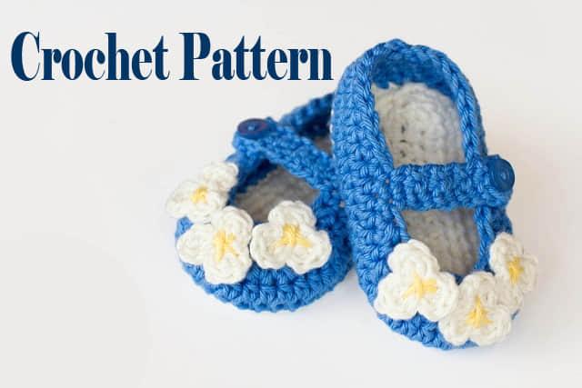 Zapatitos tejidos a crochet paso a paso con patron07