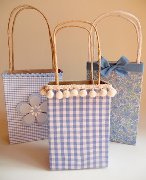Como hacer bolsas de regalo con materiales reciclables - Como hacer bolsas de regalo ...