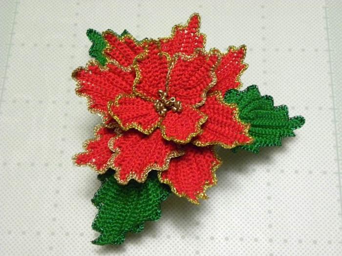 flor de noche buena a crochet04