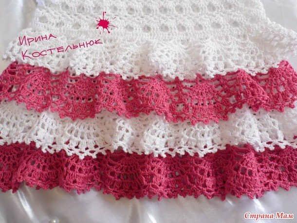 moldes de Lindos Vestiditos a Crochet con Esquemas gratis09