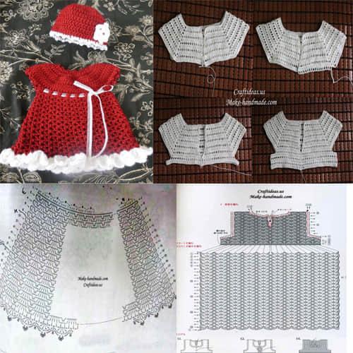 7 moldes de navidad para bebe tejidos a crochet para - Almazuelas patrones gratis ...
