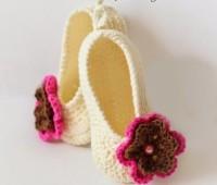 zapatillas tejidas en crochet faciles
