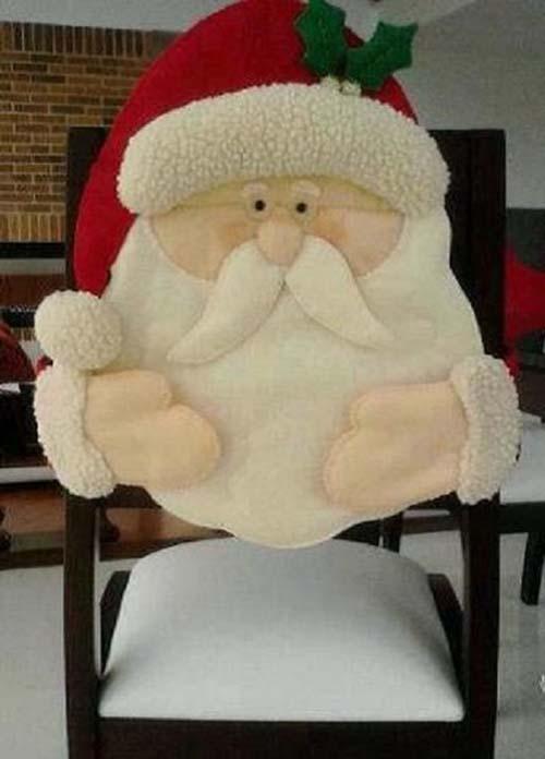 Ideas para hacer cubresillas navide as de fieltro - Sillas para hacer el amor ...