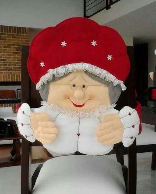 10 ideas para hacer cubresillas navideñas de fieltro09