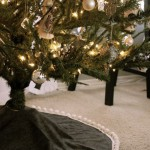 15 ideas para hacer un pie de arbol navideño02