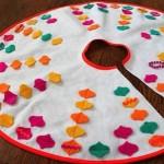 15 ideas para hacer un pie de arbol navideño07