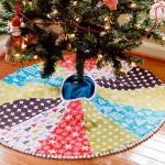 15 ideas para hacer un pie de arbol navideño09