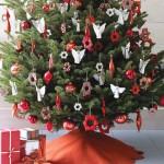 15 ideas para hacer un pie de arbol navideño13