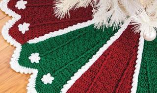 20 ideas Pie de arbol navideño tejido a crochet08