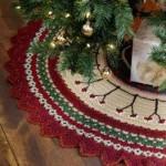 20 ideas Pie de arbol navideño tejido a crochet12