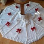20 ideas Pie de arbol navideño tejido a crochet17