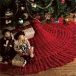 20 ideas Pie de arbol navideño tejido a crochet18
