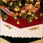 20 ideas Pie de arbol navideño tejido a crochet19