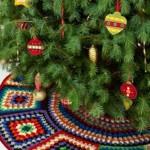 20 ideas Pie de arbol navideño tejido a crochet20
