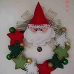20 ideas para hacer coronas navideñas14
