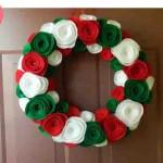 20 ideas para hacer coronas navideñas17