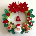 20 ideas para hacer coronas navideñas20