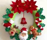 20 ideas para hacer coronas navideñas