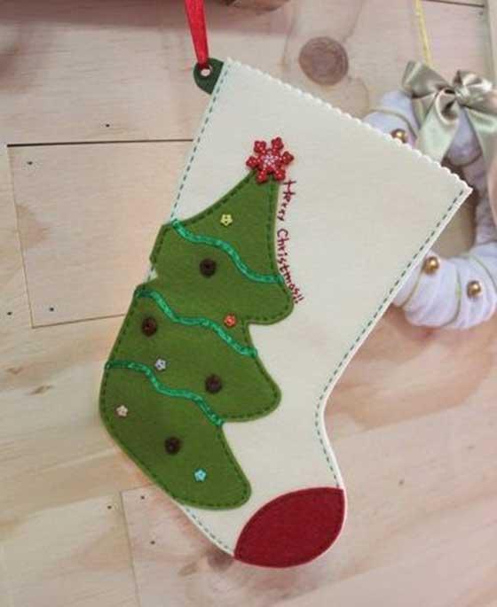 Modelos para hacer botas navide as en fieltro for Hacer figuras navidenas manualidades