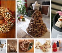 Ideas DIY para decorar con tapones de corcho reciclados