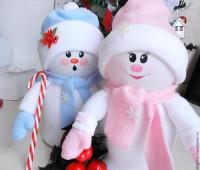 Como hacer un muñeco de nieve con botellas de plastico