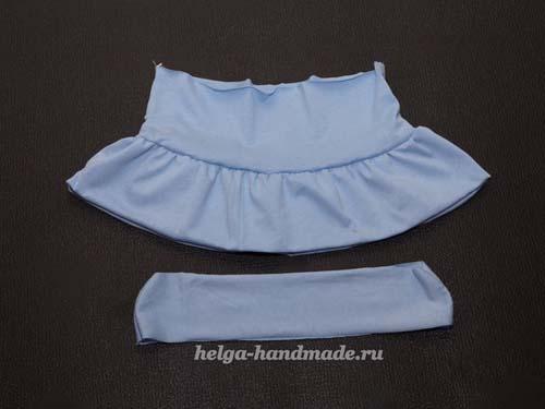Como hacer una falda con olanes paso a paso01
