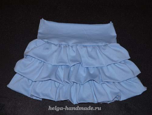 Como hacer una falda con olanes paso a paso02