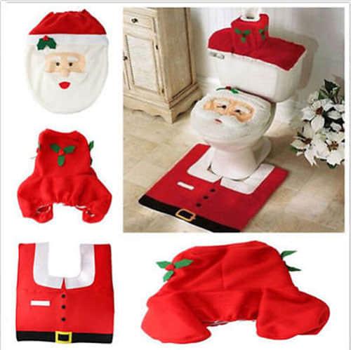 Decoración navideña para baños01