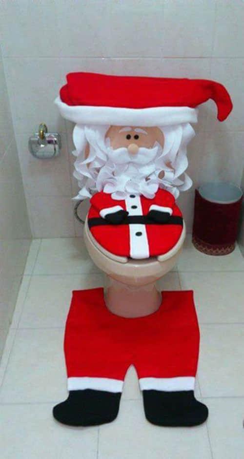 Decoración navideña para baños02