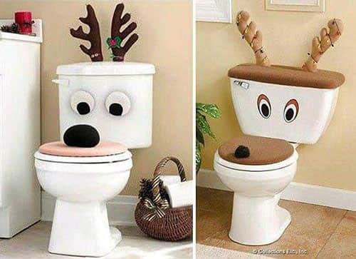 Decoración navideña para baños03