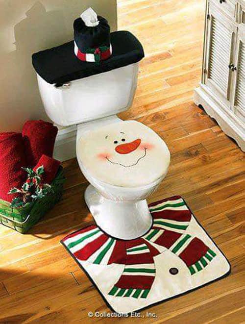 Decoración navideña para baños04