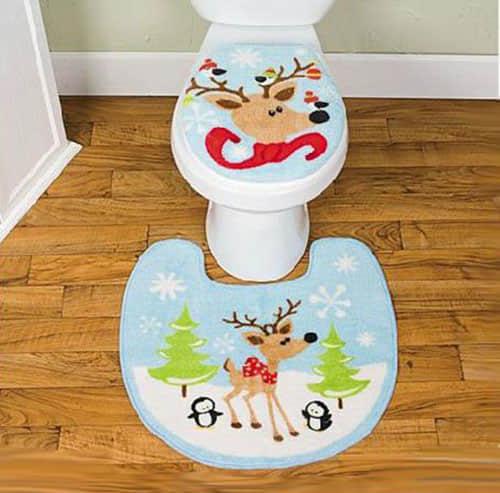 Decoración navideña para baños05