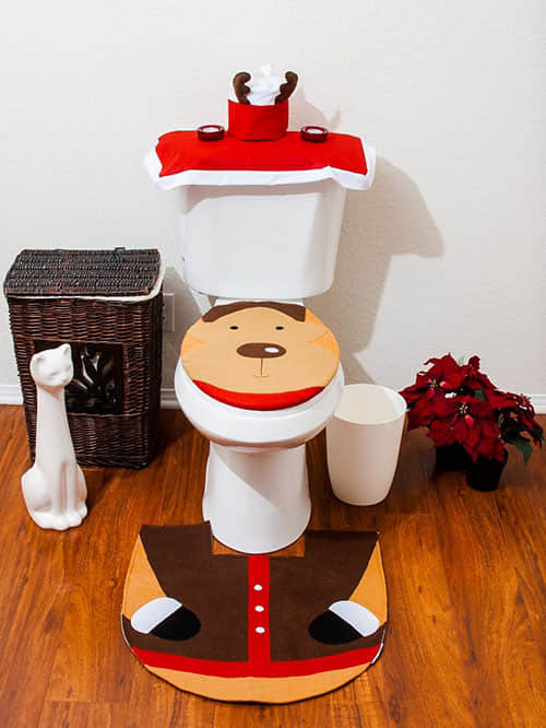 Decoración navideña para baños06