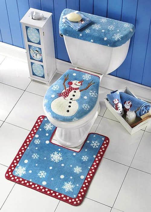 Decoración navideña para baños08
