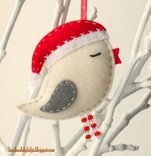 Figuras navide as de fieltro para decorar arbol de navidad - Figuras navidenas para decorar ...
