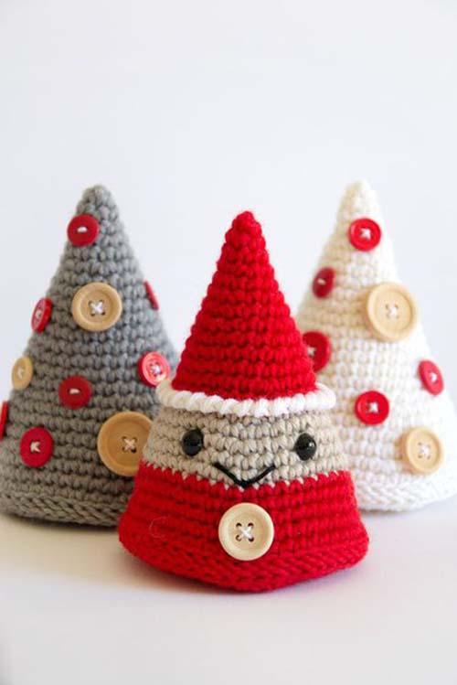 Figuras navideñas tejidas a crochet06