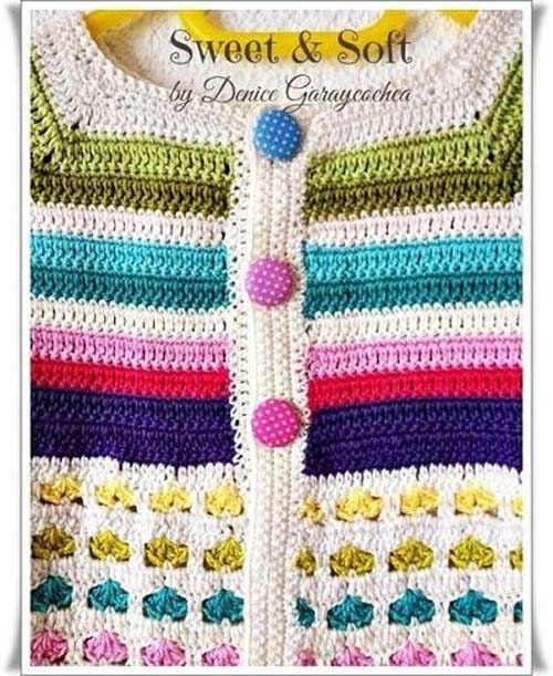 Free Crochet Sweater Patterns for Children01