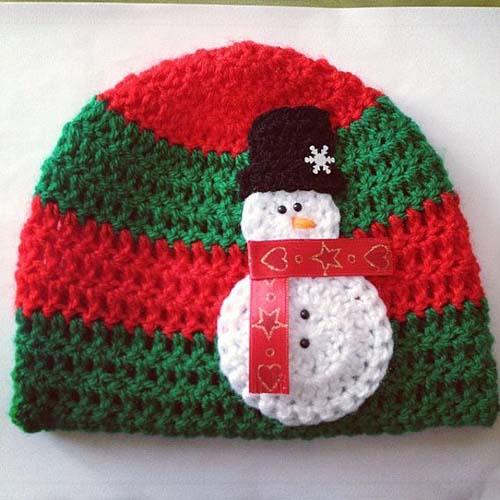 Gorros navide os tejidos a crochet par ni os for Decoracion del hogar en crochet