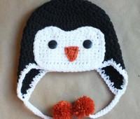 Gorros navideños tejidos a crochet par niños