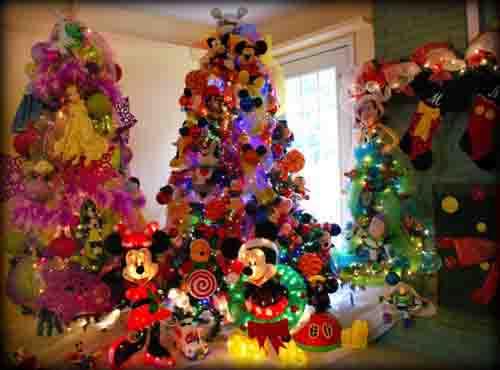 Ideas para decorar arbol navideño con peluches03