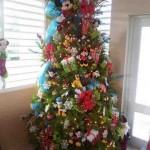 Ideas para decorar arbol navideño con peluches06