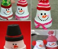 Ideas para decorar macetas en navidad