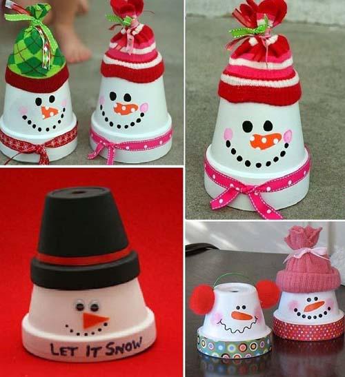 Ideas para decorar macetas en navidad02