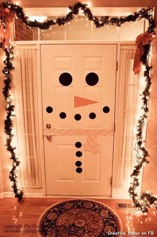 Ideas para decorar puertas en navidad06