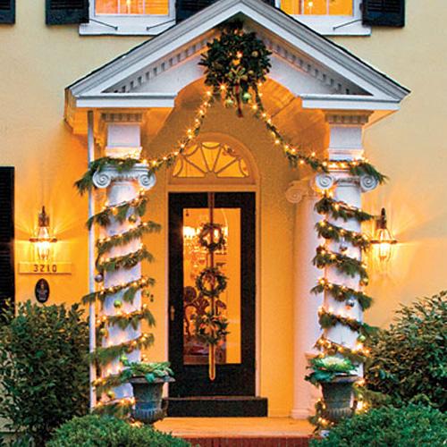Ideas para decorar puertas en navidad09
